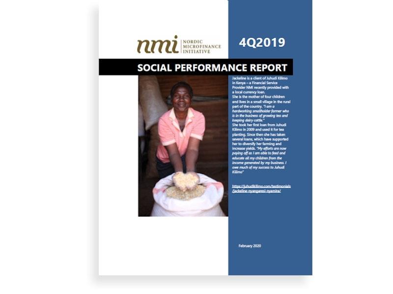 NMI's Social Performance Report 4Q19