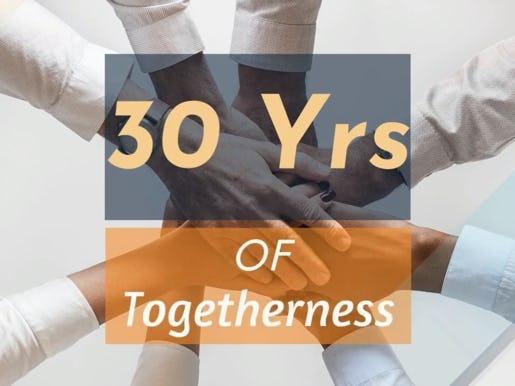 Happy 30th anniversary, Satin!