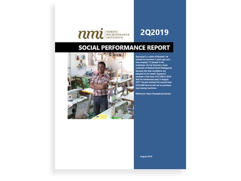 NMI's Social Performance Report 2Q19