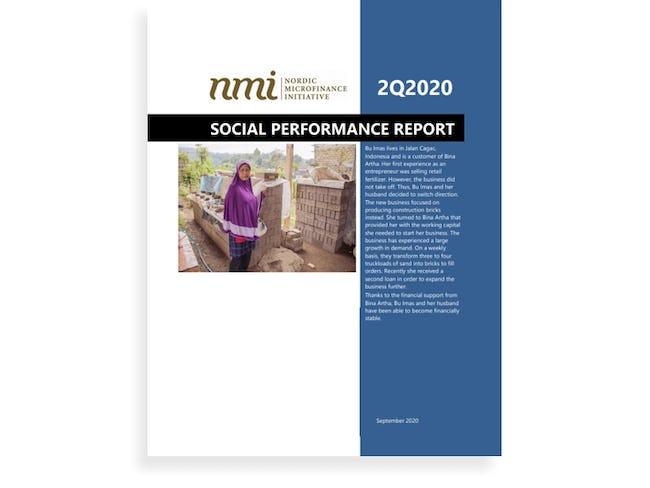 NMI's Social Performance Report 2Q20