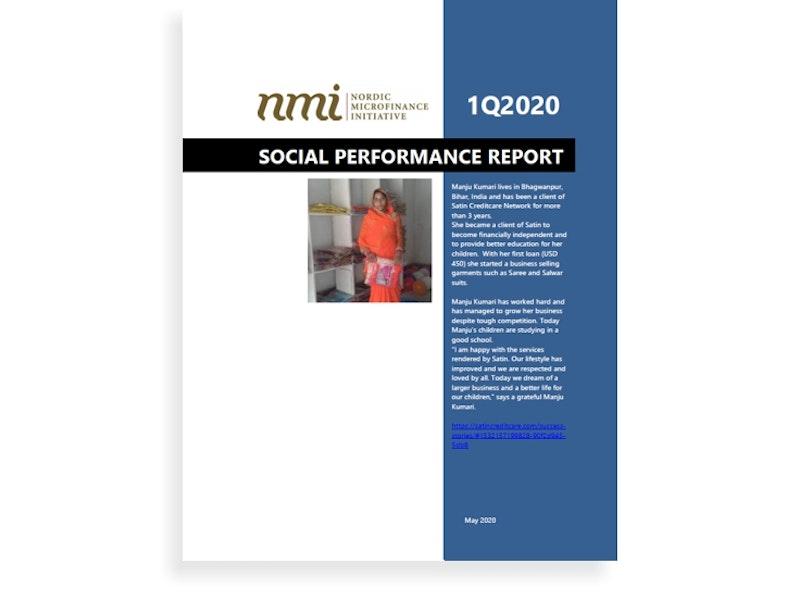 NMI's Social Performance Report 1Q20