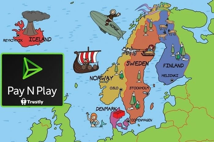 Scandinavian players favor Pay n Play Casinos with BankID