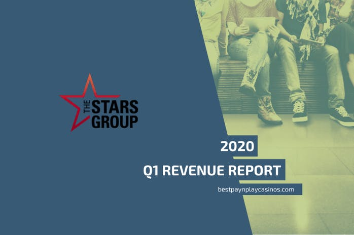 The Stars Group records a 27% revenue increase in Q1