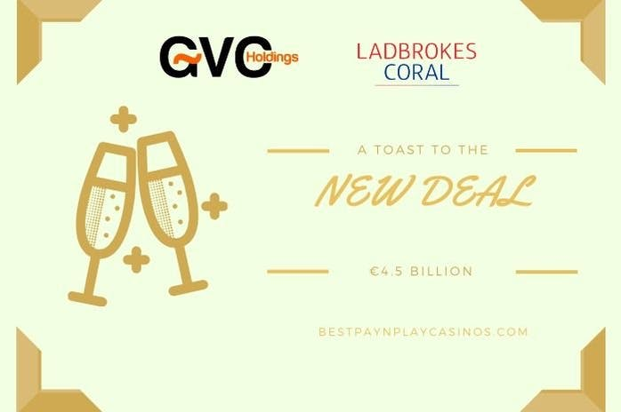 GVC completes acquisition of the Ladbrokes Coral Group