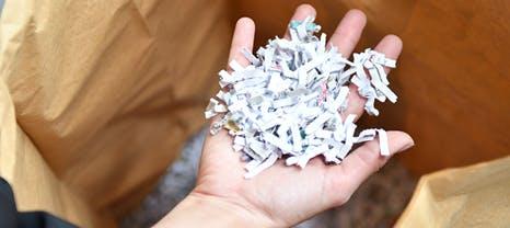 papier confidentiels
