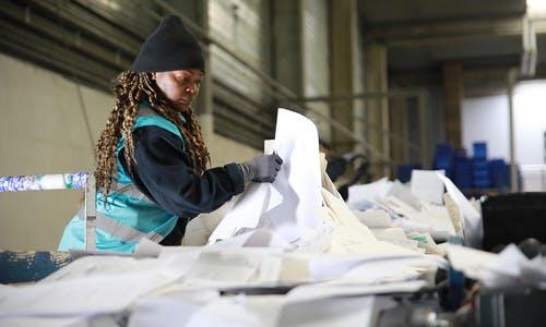 Le tri et le conditionnement des papiers de bureau