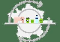 collecte déchets de bureau
