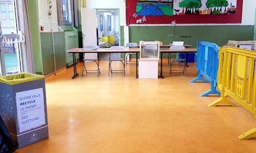 Recyclage bulletins vote saint mandé