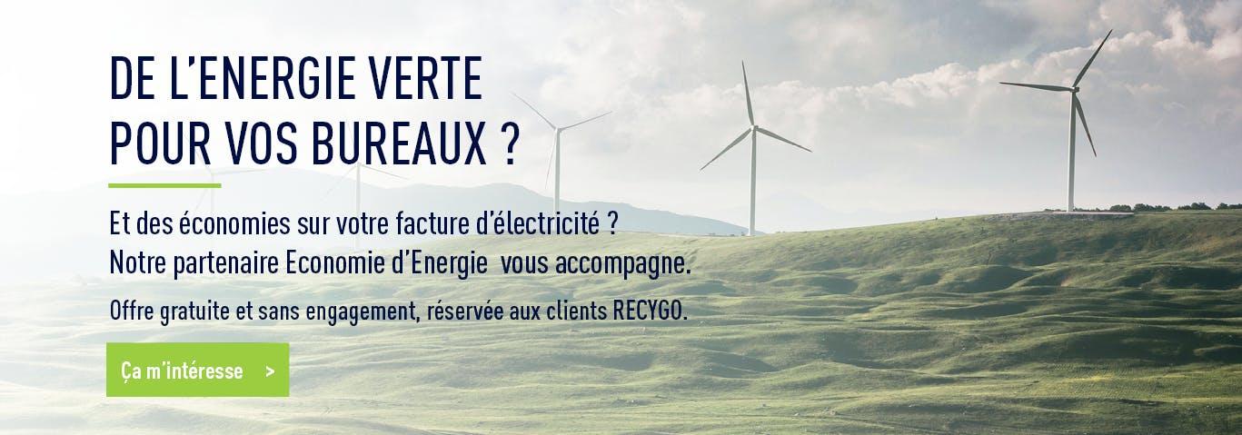 Recygo x Economie d'Energie