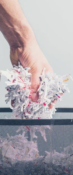 rgpd et recyclage papier