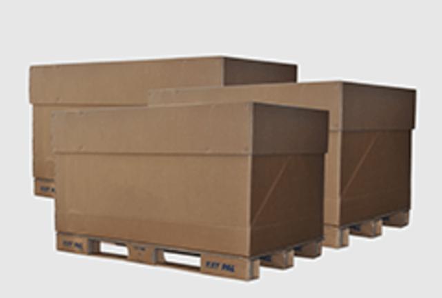 Trois contenants Box EXIGO DEEE de Recygo
