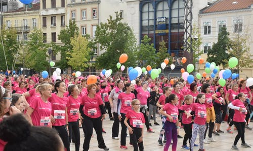 Course Clermont en Rose