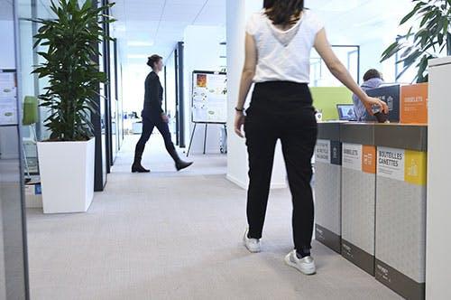 Solution sur-mesure pour trier et recycler vos déchets de bureau