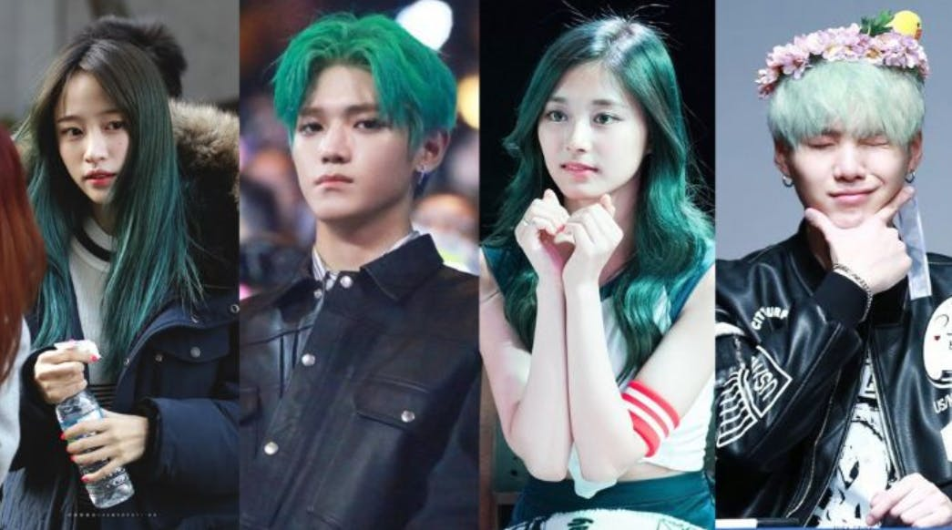 6 Trendiest Hair Colors In K Pop Nomakenolife The Best Korean And Japanese Beauty Box Straight From Tokyo To Your Door