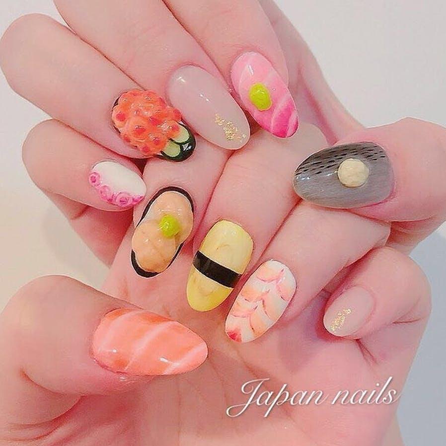 4314bdbe48c32a4fba38eedc436581fb3ba1b778 sushi nails