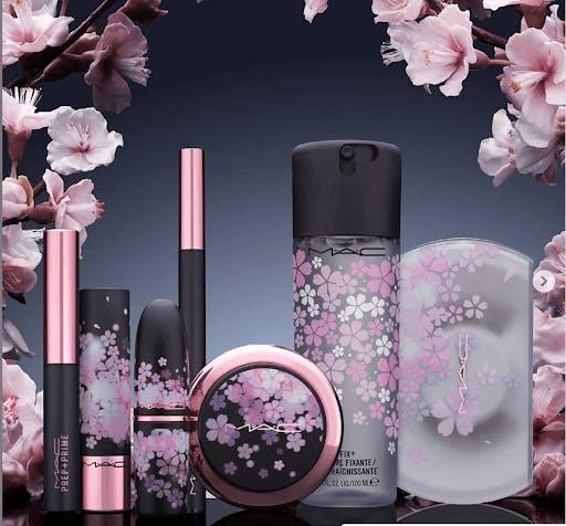 MAC limited edition Sakura cosmetics