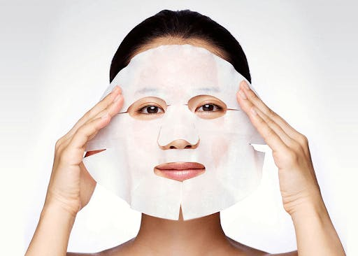 A Japanese face mask is perfect for soft and supple skin!