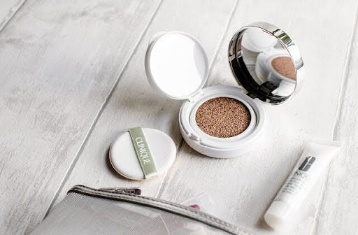 Cushion foundation is currently trending among beauty enthusiasts