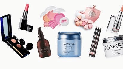An example of several popular korean skin care products and korean cosmetics