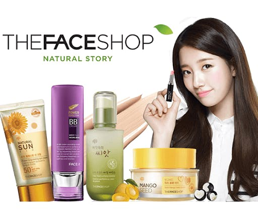 The face shop is a korean beauty brand with international appeal, and now has shops all over the world