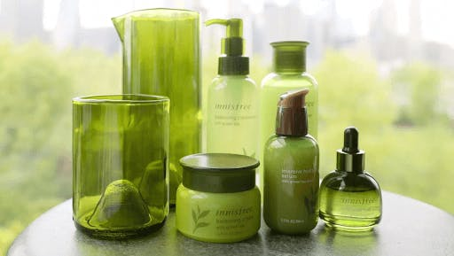 Innisfree is one of the most affordable natural korean skincare brands