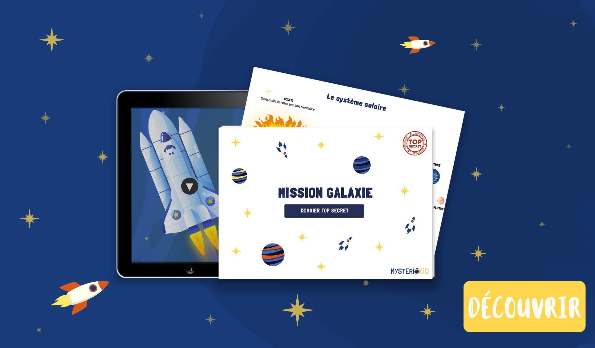 Jeu sur le système solaire gratuit pour les enfants de 6 à 9 ans