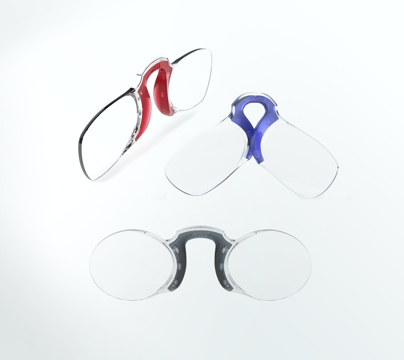 Nooz optics original armless reading glasses without case