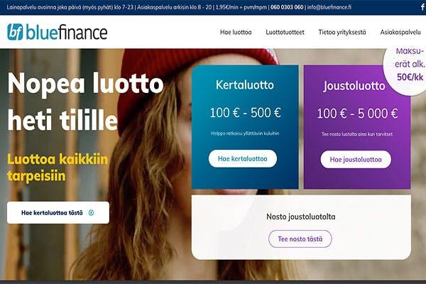 Blue Finance luotot