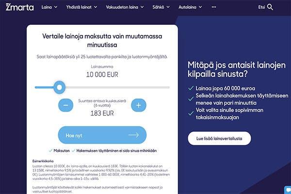 Zmarta.fi lainat
