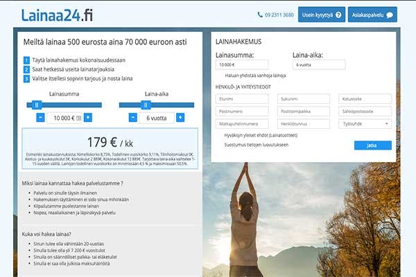 lainaa24.fi lainapalvelu