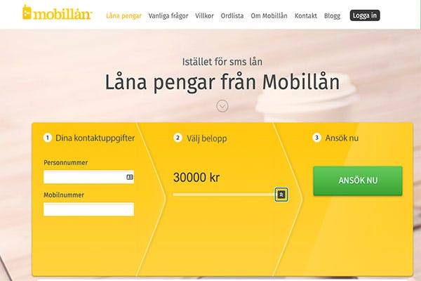 Låna pengar från Mobillån