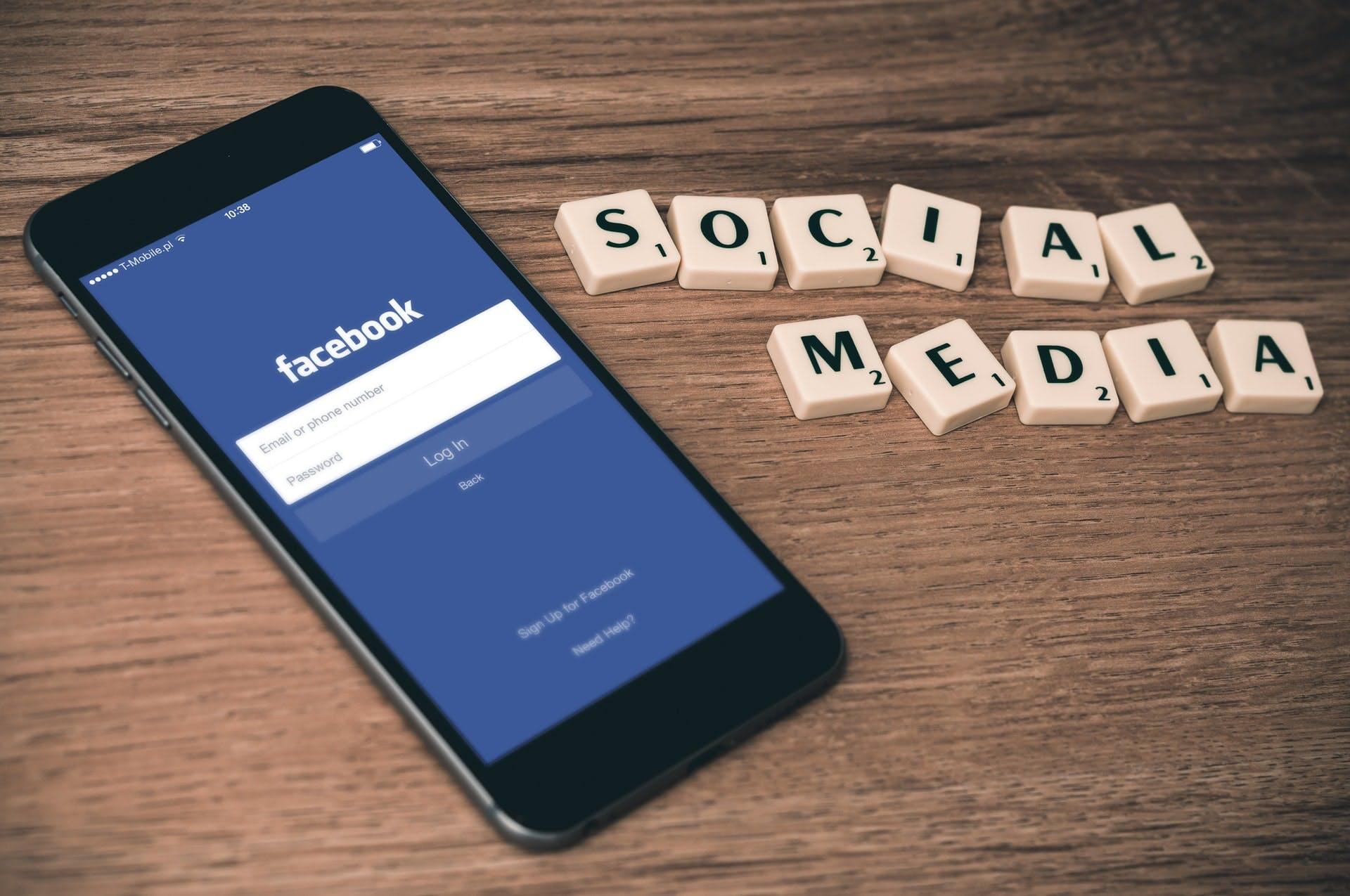 criando página de facebook empresas