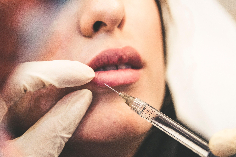 Botox em clínica de estética