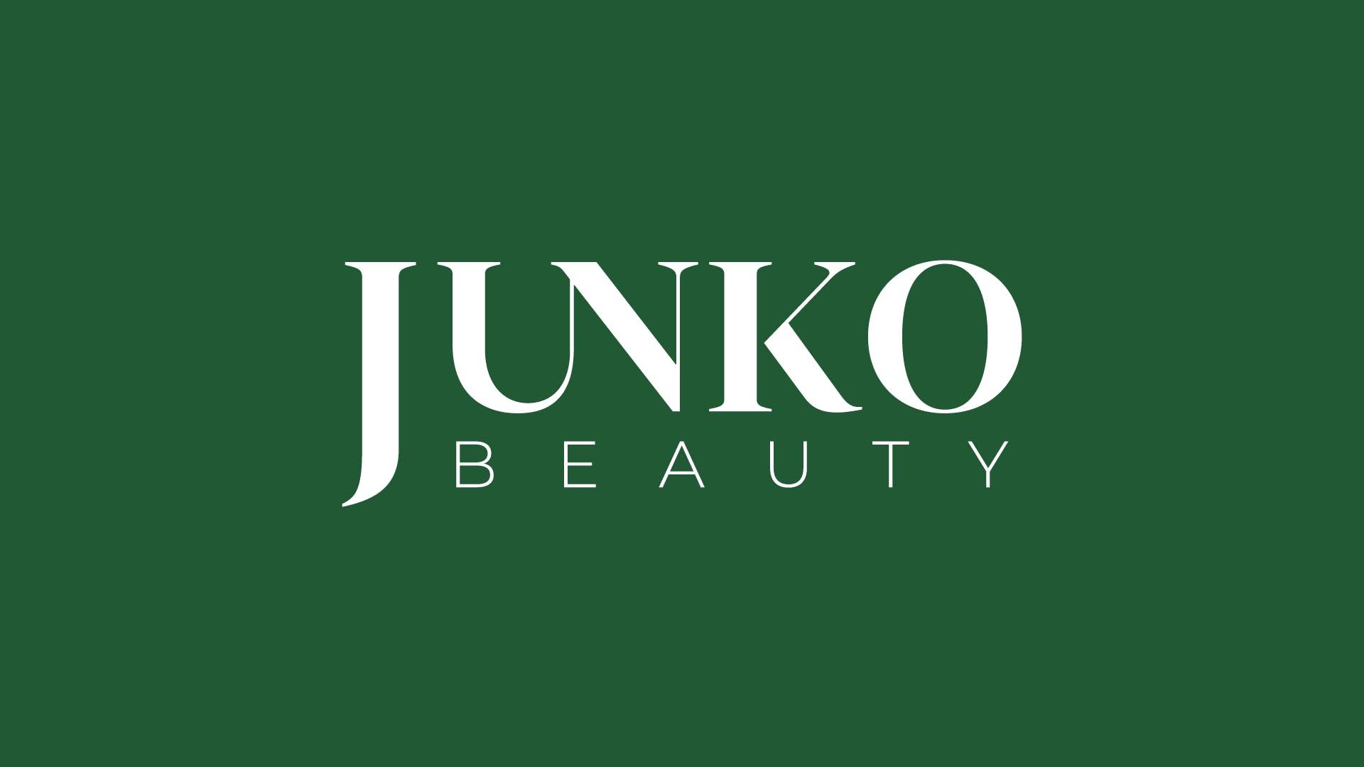 Junko Beauty - Design de logo de clínicas de estética
