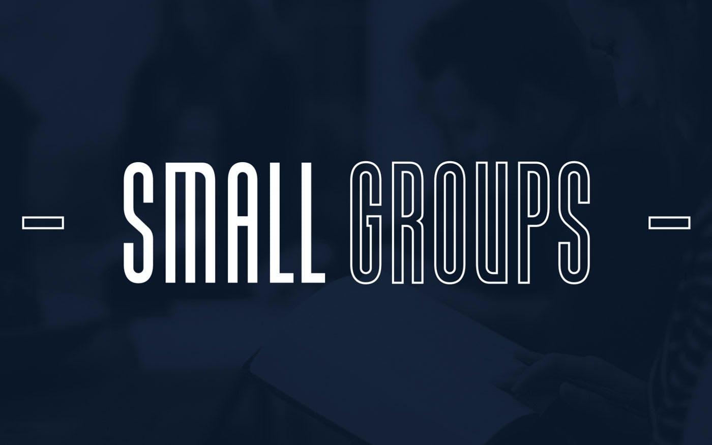 Small groups logo.