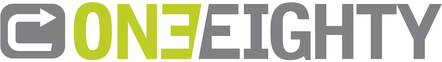 One-eighty logo.