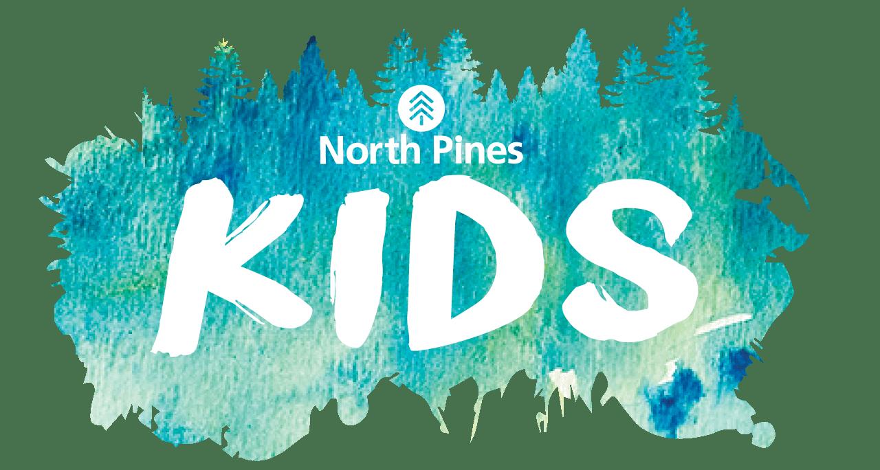 North Pines Kids logo.