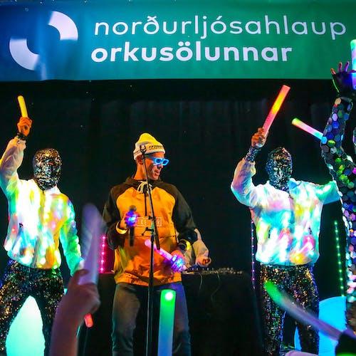 Jón Jónson og dansarar í Hafnarhúsinu