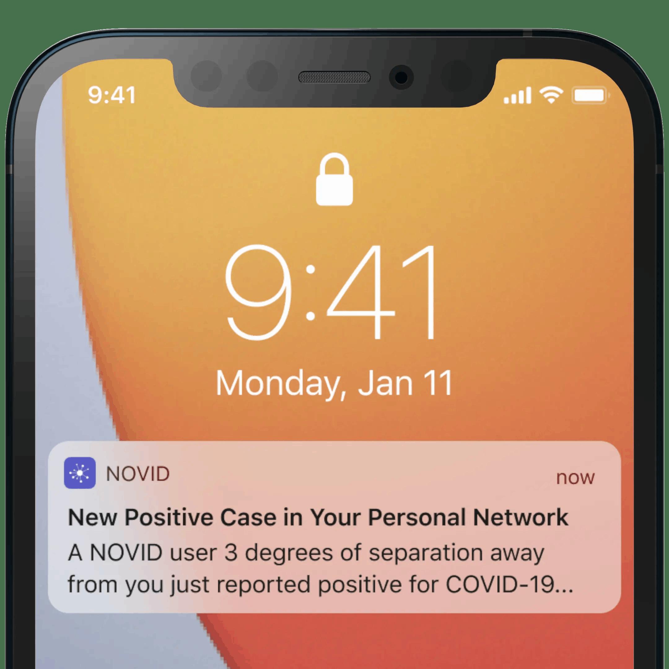iPhone Pre-Exposure Notification