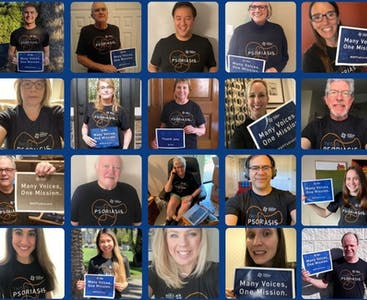 A collage of NPF volunteers and employees.