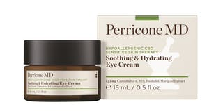 A bottle of Perricone MD Soothing and Hydrating Eye Cream