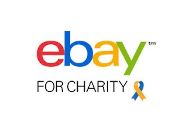 eBay for Charity logo.