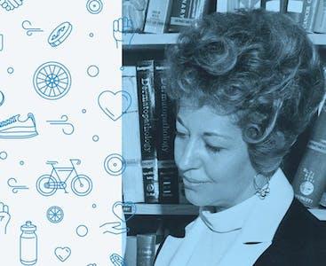 Un'immagine storica di Beverly Foster di Portland, Oregon, che ha fondato NPF nel 1966.