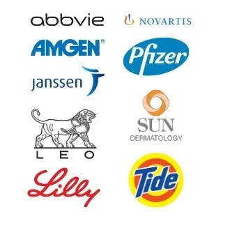 Sponsors of Team NPF events for the National Psoriasis Foundation include: Abbvie, Amgen, Janssen, Leo, Lilly, Novartis, Pfizer, Sun Dermatology and Tide