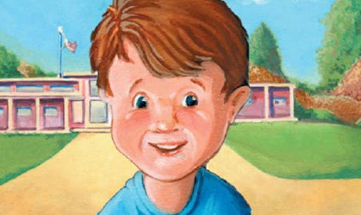 Cover of Bernie's Secret children's book.