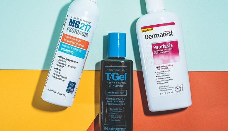 Image of psoriasis shampoos