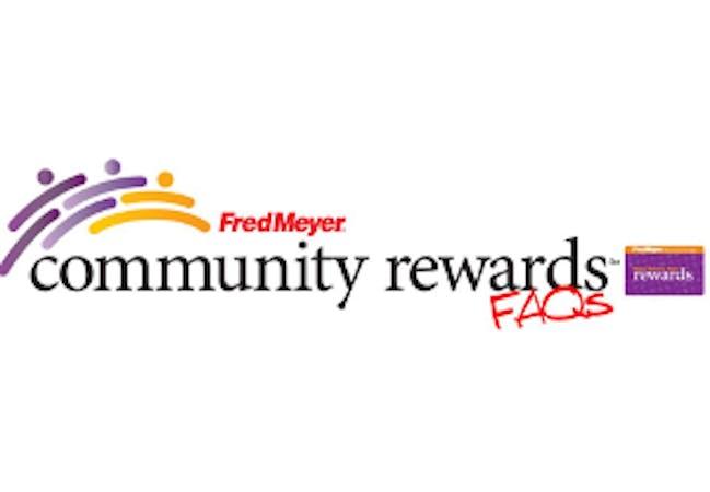 Fred Meyer Community Rewards logo.