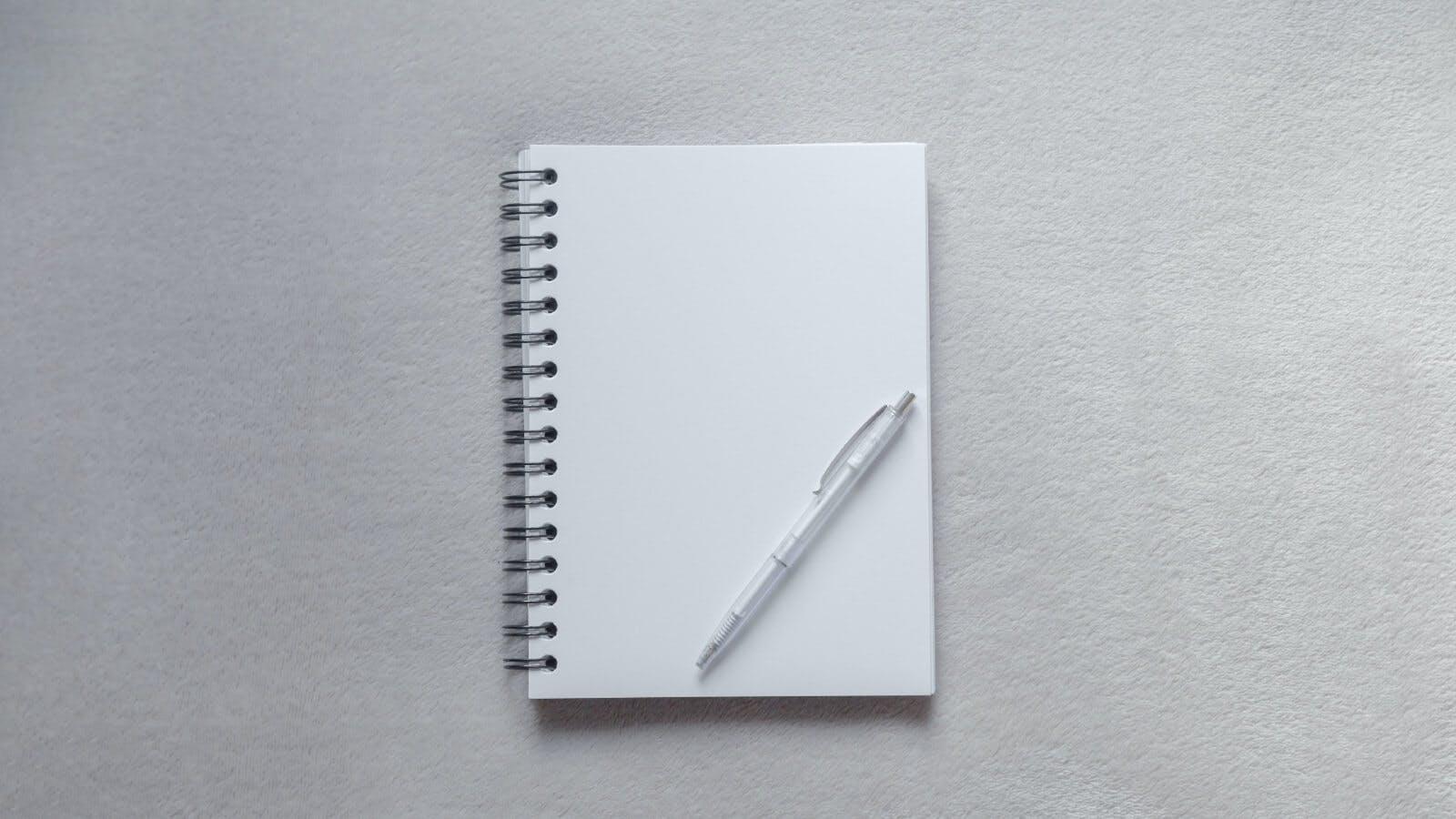 non executive director notepad and pen
