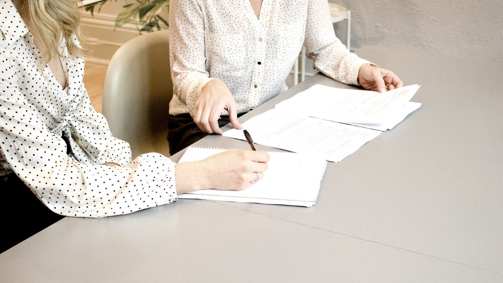 Women in a board meeting