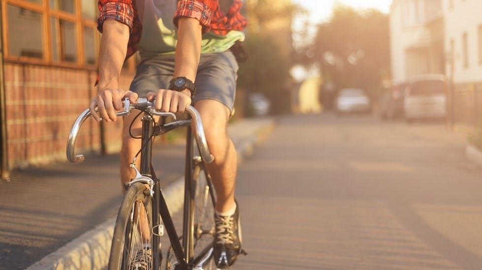 Bicicleta circulando